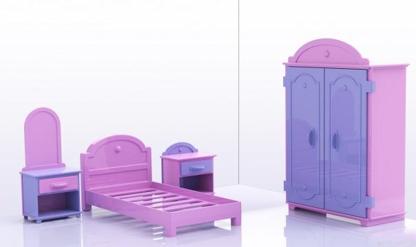 Моделирование игрушечной мебели