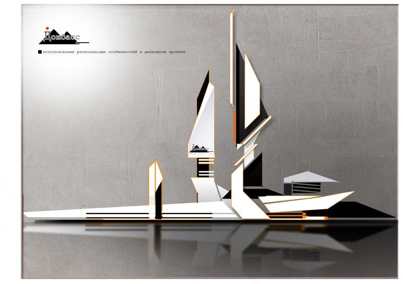 панорама архитектурного комплекса