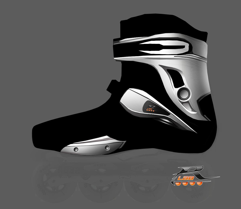 дизайн фурнитуры роликовых коньков