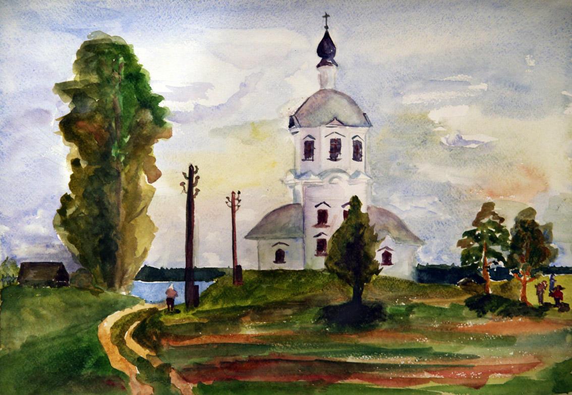 Церковь в Осташкове