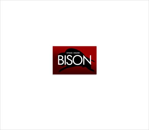 Логотип для ресторана «Bison»