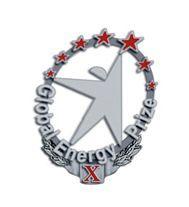 Эскиз значка «10 лет премии Глобальная Энергия»