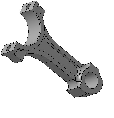 Шатун двигателя ВАЗ-2109