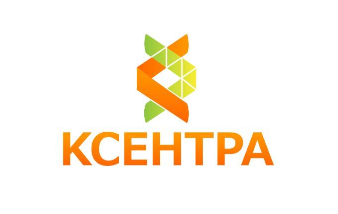 Принятый вариант логотипа для компании Ксентра