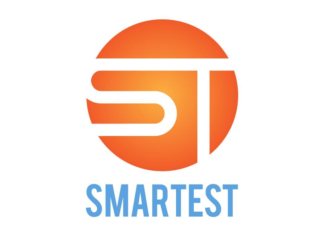 Вариант логотипа компании SMARTEST