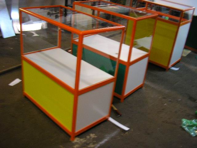 Разработка дизайна и конструктива торгового оборудования