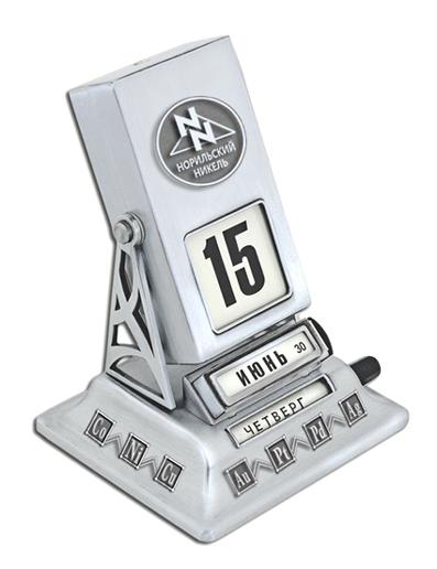 Дизайн ретро-календаря «Норильский Никель»