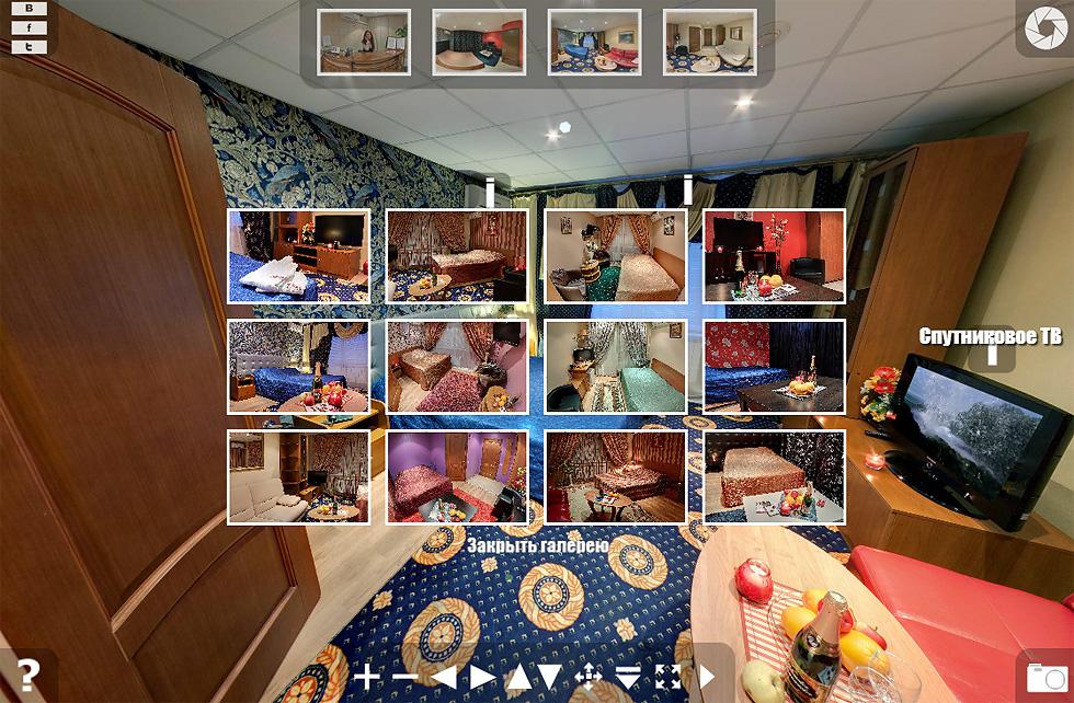 Виртуальный тур по мини-отелю Бонжур