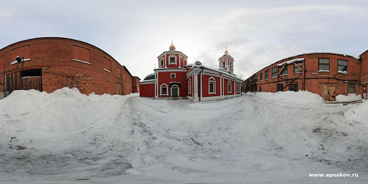 архитектурная фотосъемка Церкви Покрова Пресвятой Богородицы