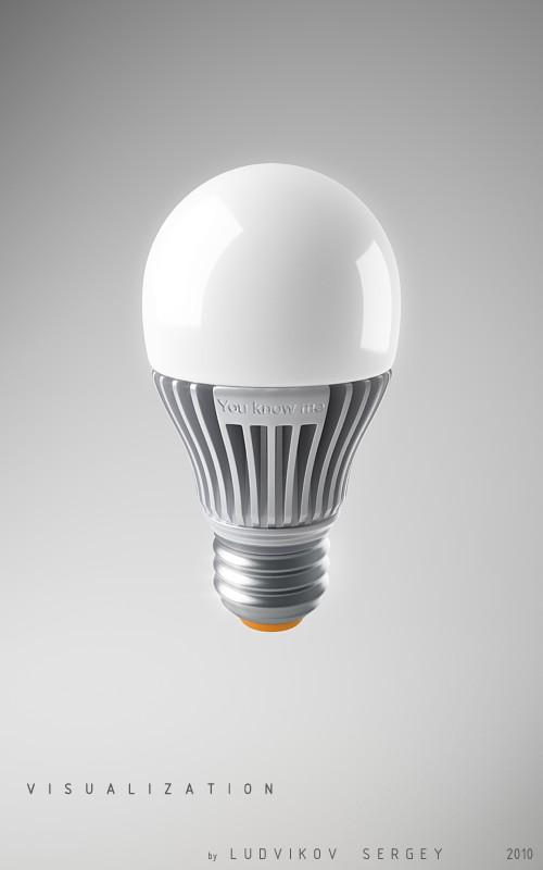 Визуализация лампы. Vert.