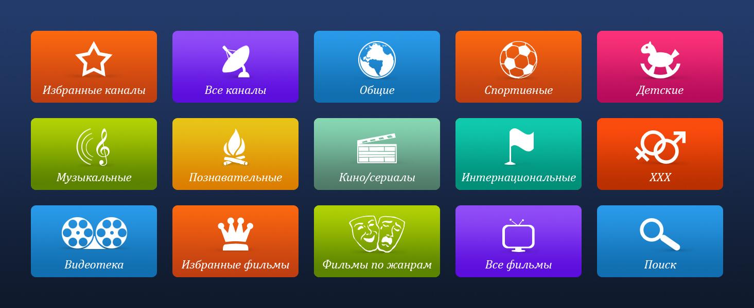 кнопки для TV