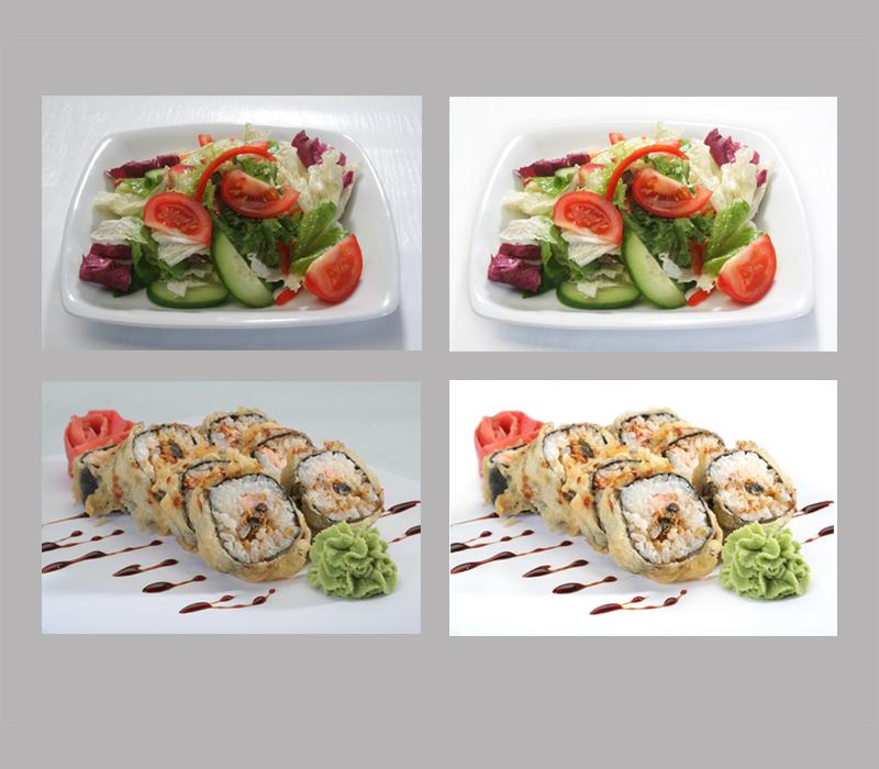 цветокоррекция блюд