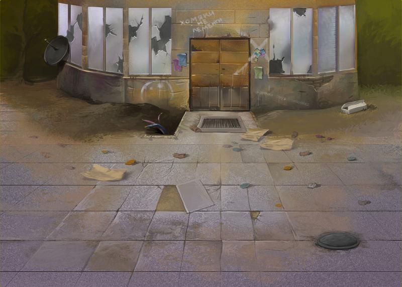 Локация Гетто для игры Хомячки