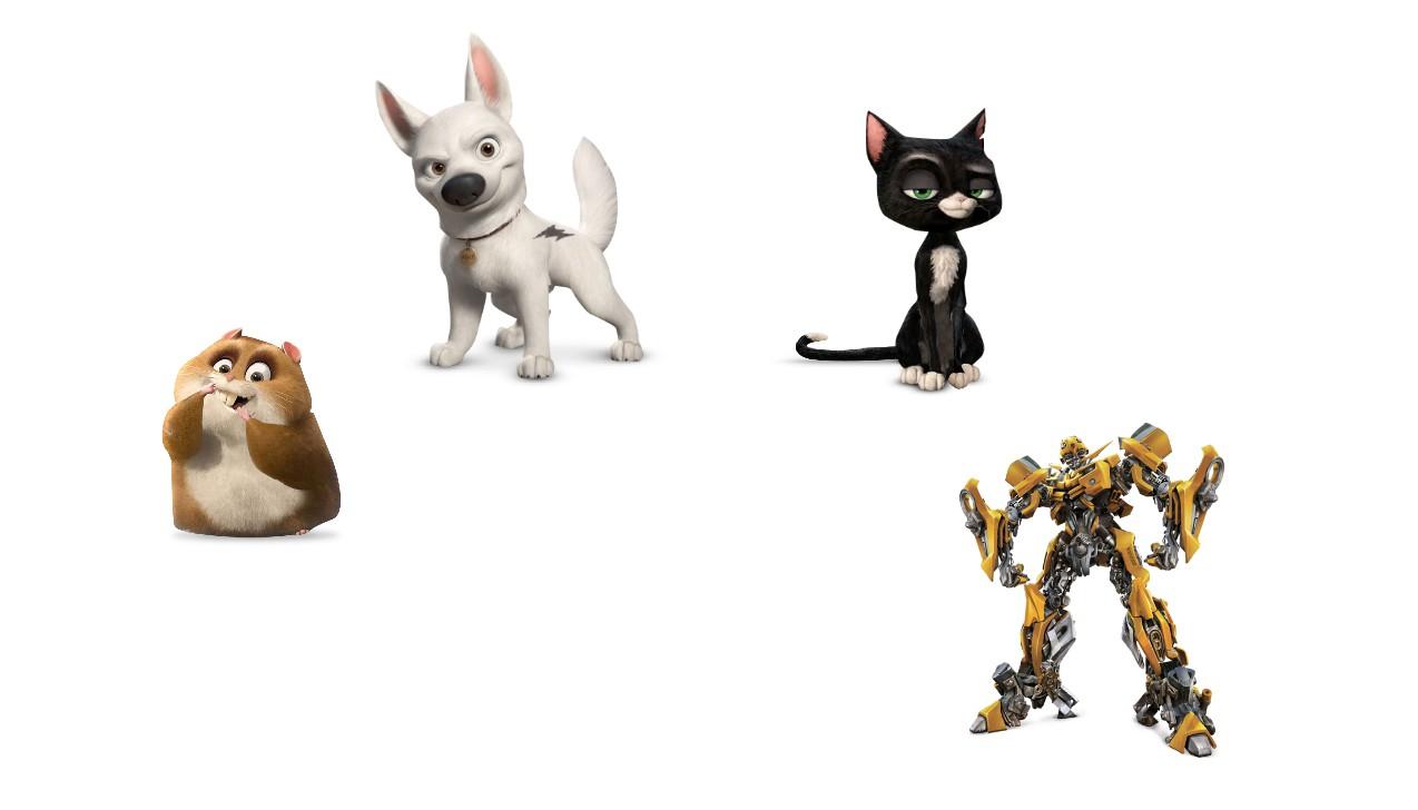 4 персонажа-помощника для модного сайта