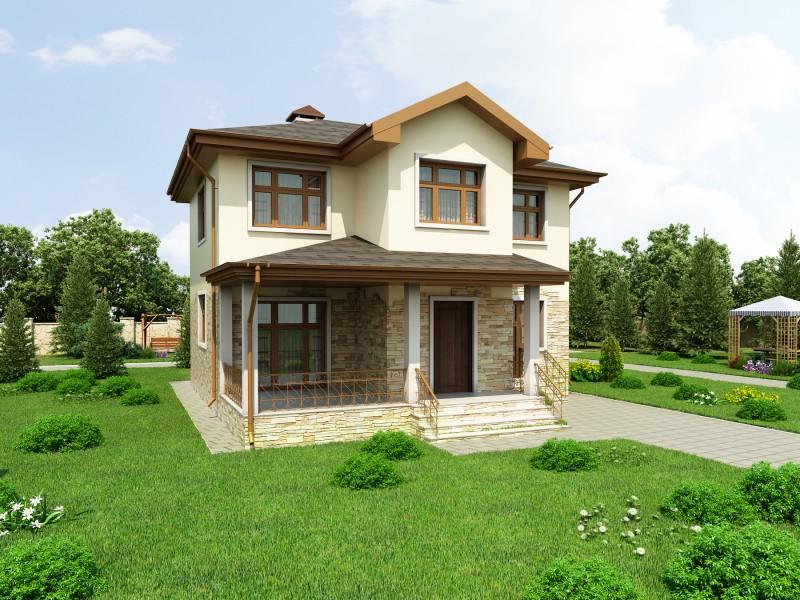 Дом 124 м2 для ДКП Феликсово (ЭНИОН)