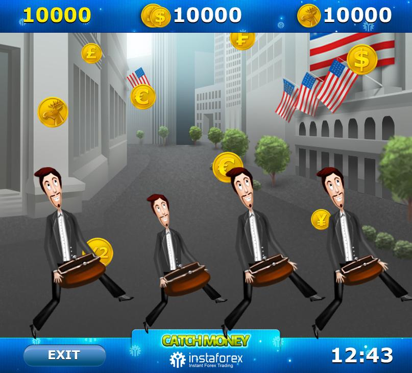 Промо-игра Catch Money