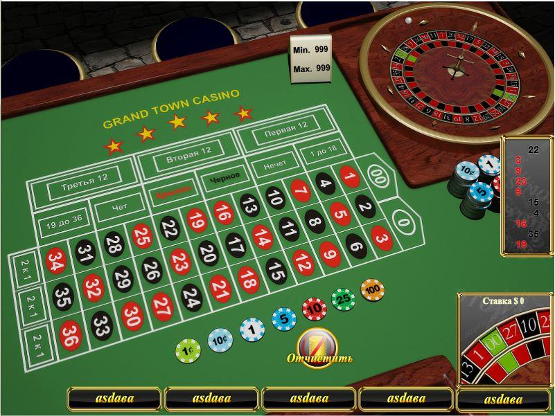 Американская рулетка для онлайн-казино