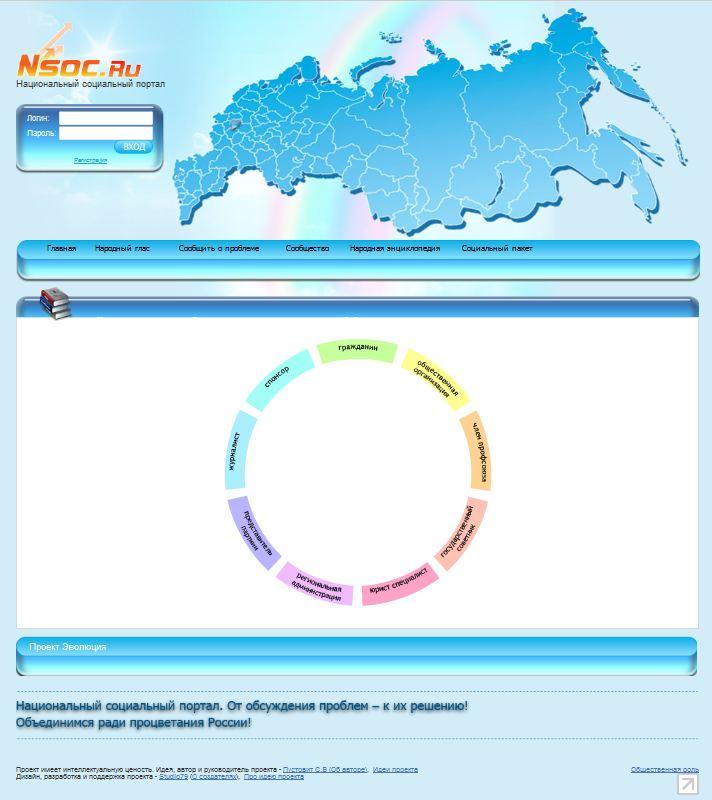 Флеш-карусель для регистрации на NSOC.ru