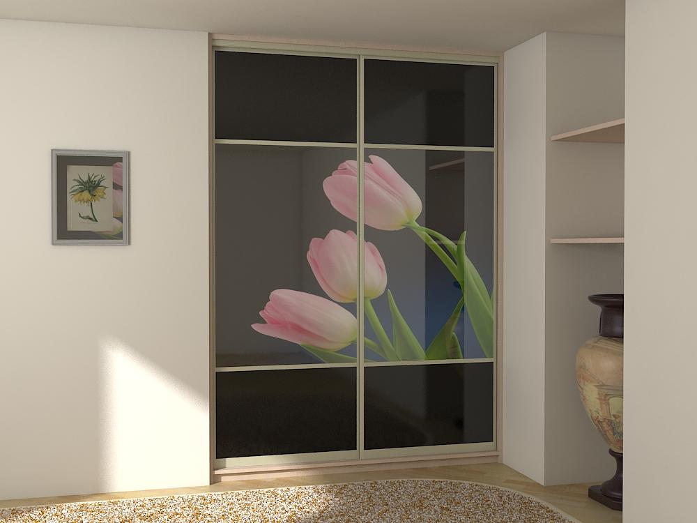 Визуализация фасадов шкафов-купе