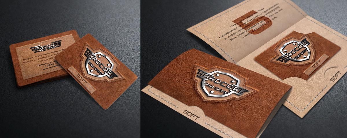 клубная карта SOFT + открытка-картхолдер HARDCORE