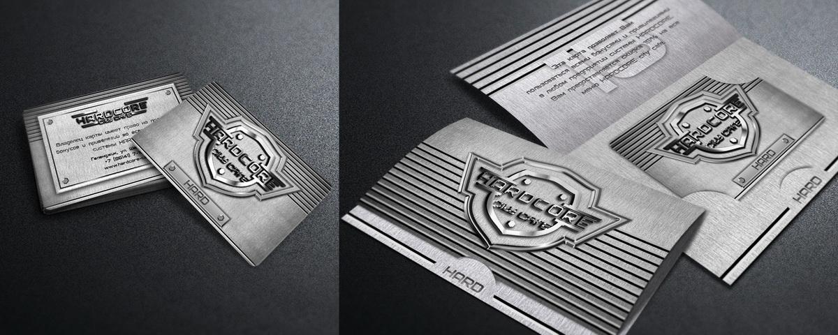 клубная карта HARD + открытка-картхолдер HARDCORE