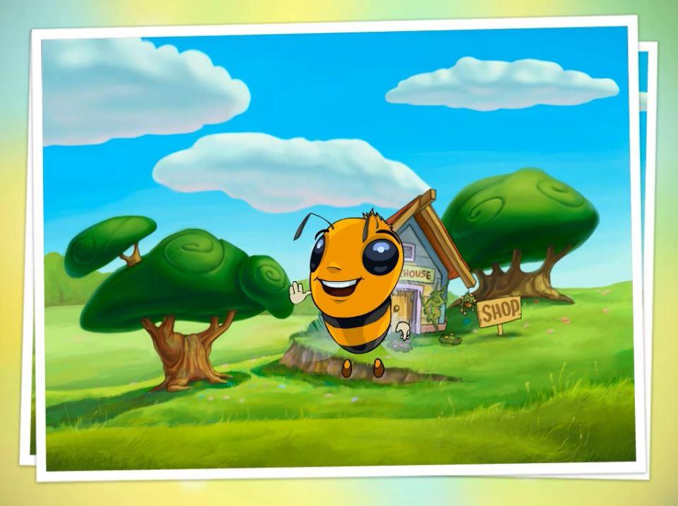 Шмеленок для ролика игры Cvetmo.net