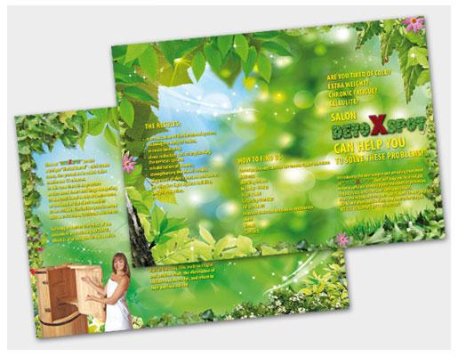 Буклет оздоровительного центра