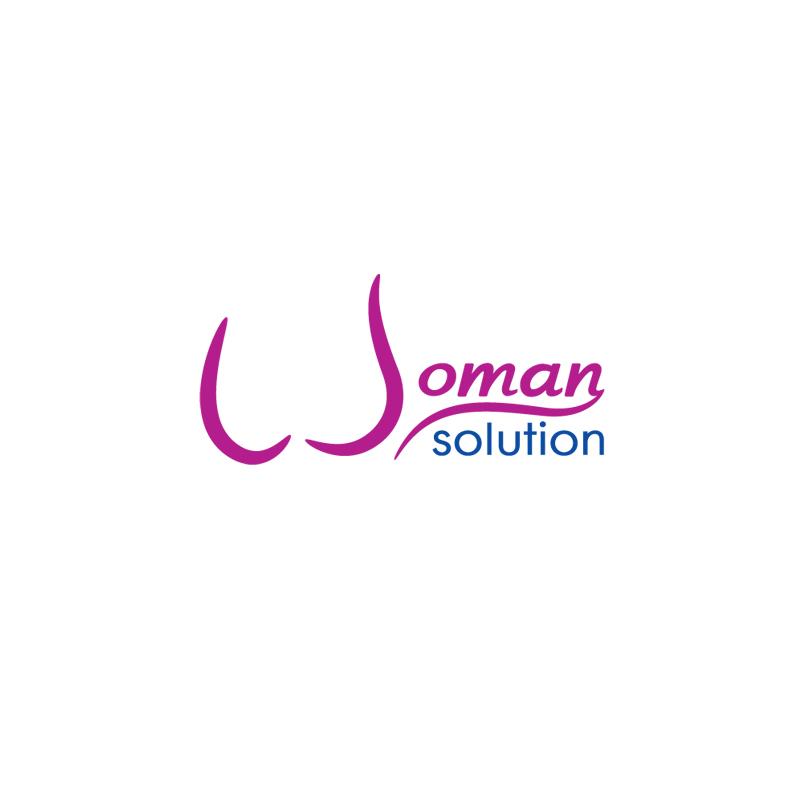 Логотип товаров для женского здоровья Woman Solution