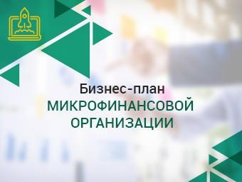 Бизнес-план микрофинансовой организации