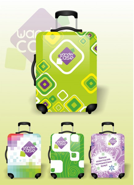 дизайн чехлов на чемоданы