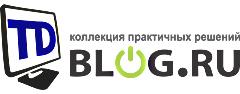 Логотип для сайта TDBlog.ru