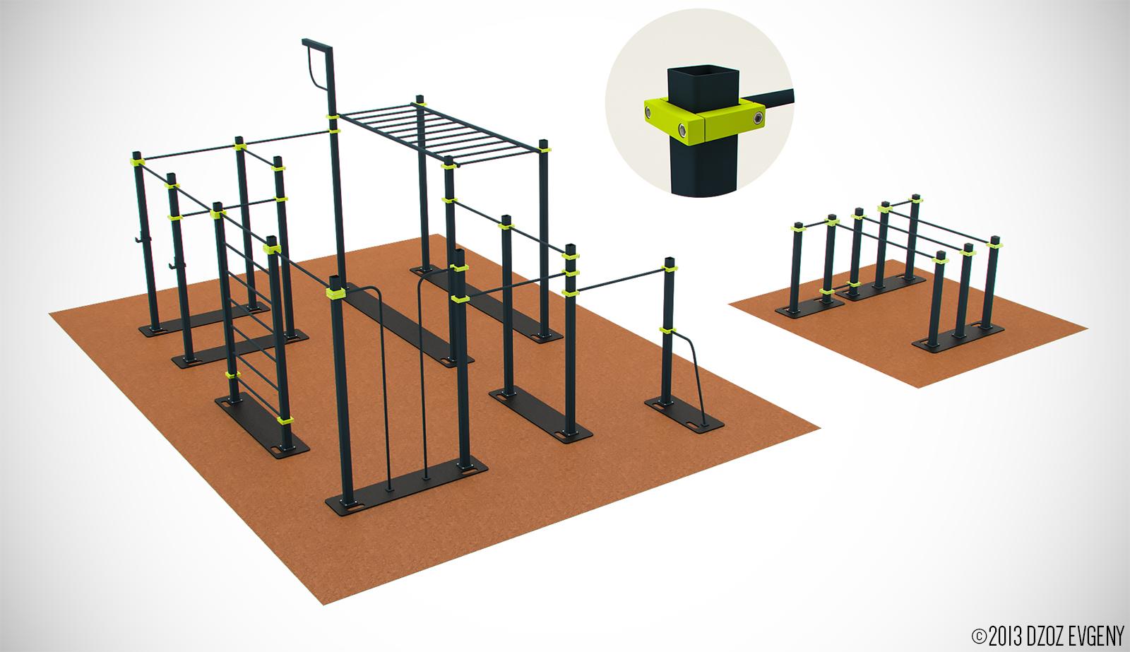 Спортивные площадки kenguru.pro