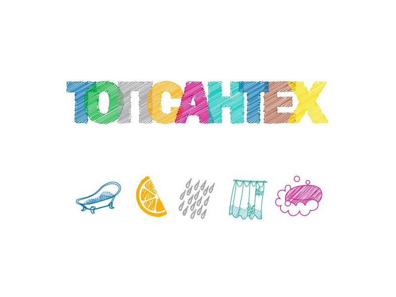 Лого + набор иконок для сайта topsantex.ru
