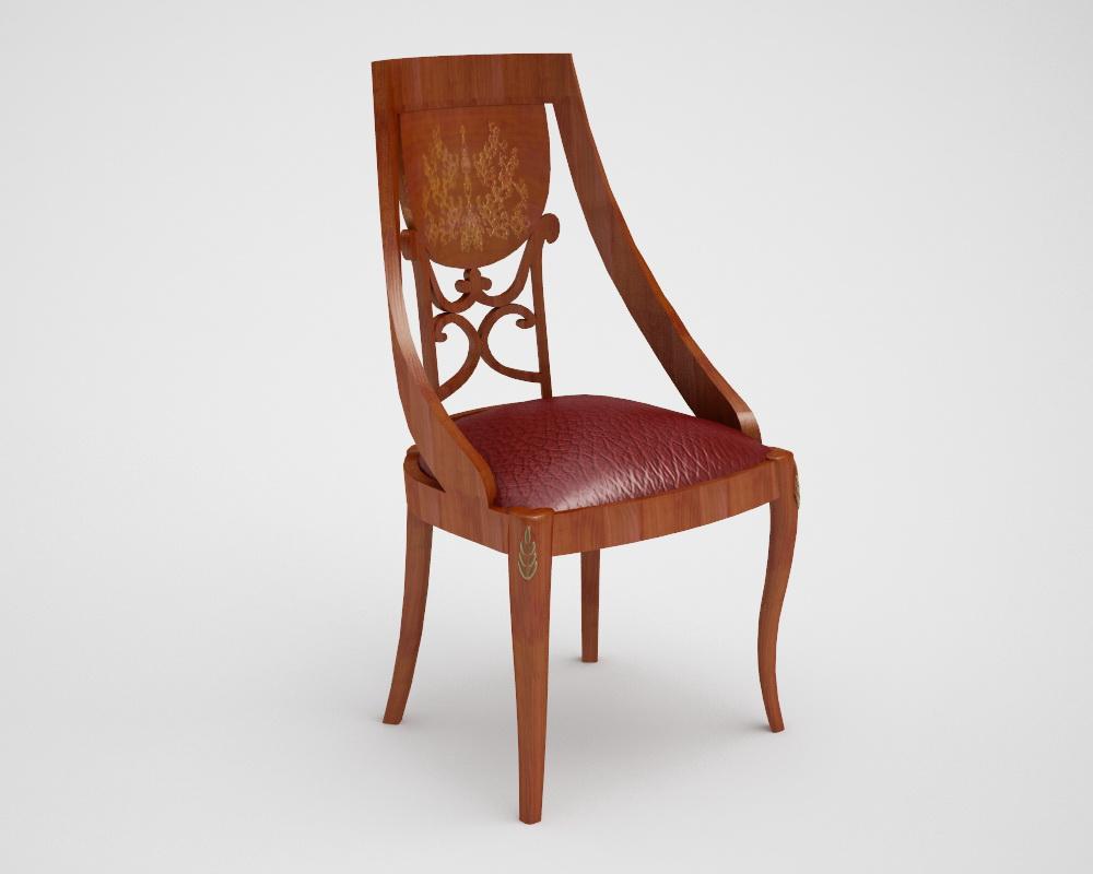 Моделирование стула Trevi Grilli