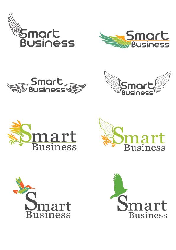 """Разработка логотипа для компании """"Smart Bussines"""""""