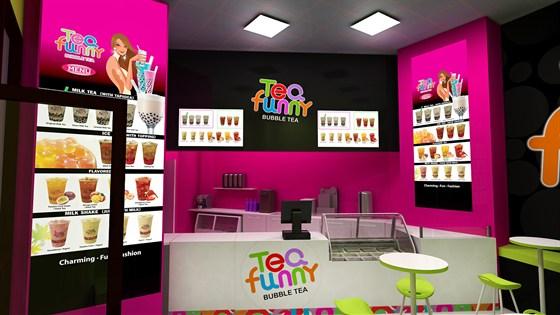 Tea Funny – рекламный видеоролик (умеренно игривый теплый голос)