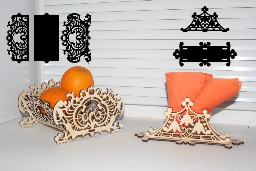 Лазерная резка изделий из дерева и фанеры
