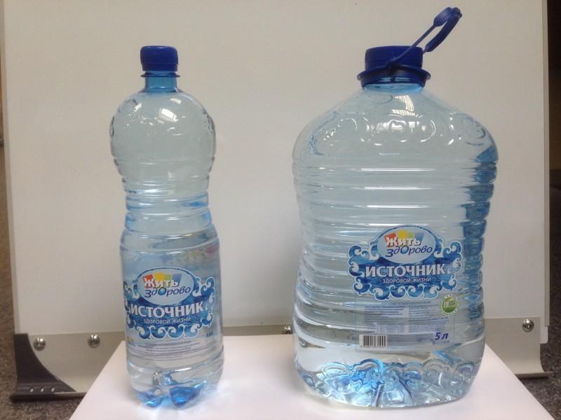 ПЭТ бутылка. 5, 1,5 литра.