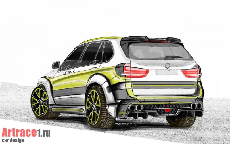 BMW X5 2014 design by Artrace (Artem Sinitsyn)