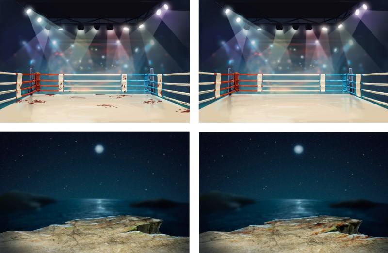 Фоны для боев - 1 (Тайский бокс)