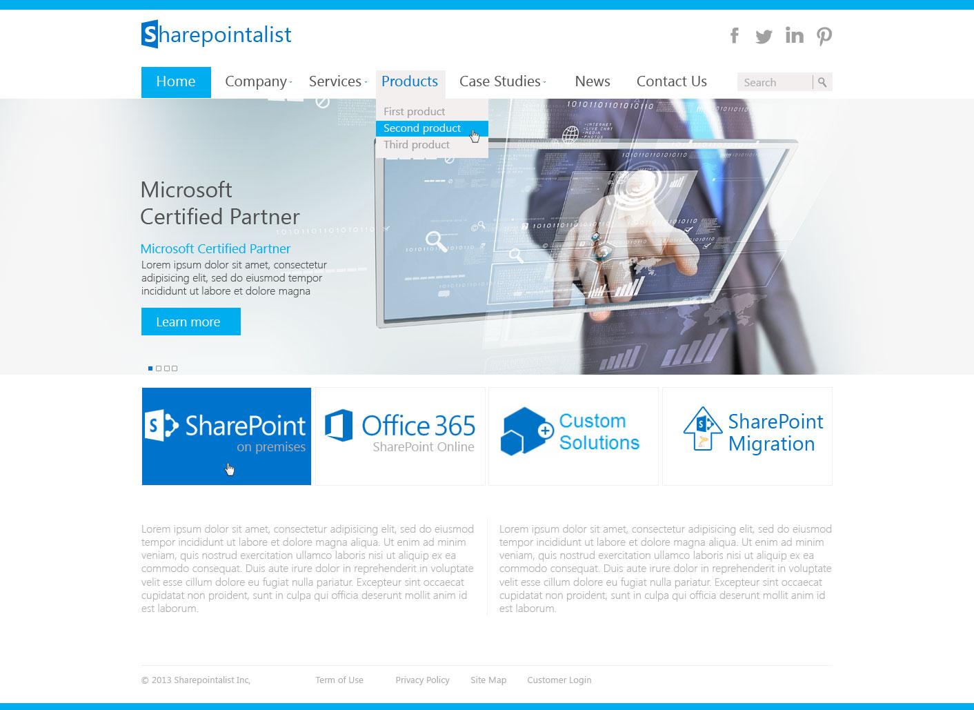 Сайт IT-компании
