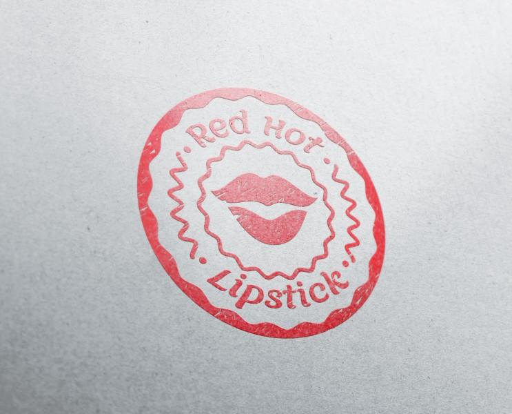 Логотип Red Hot Lipstick