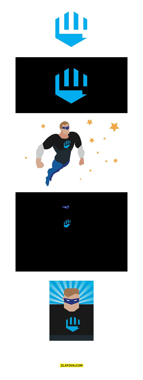 Супер-герой Щ