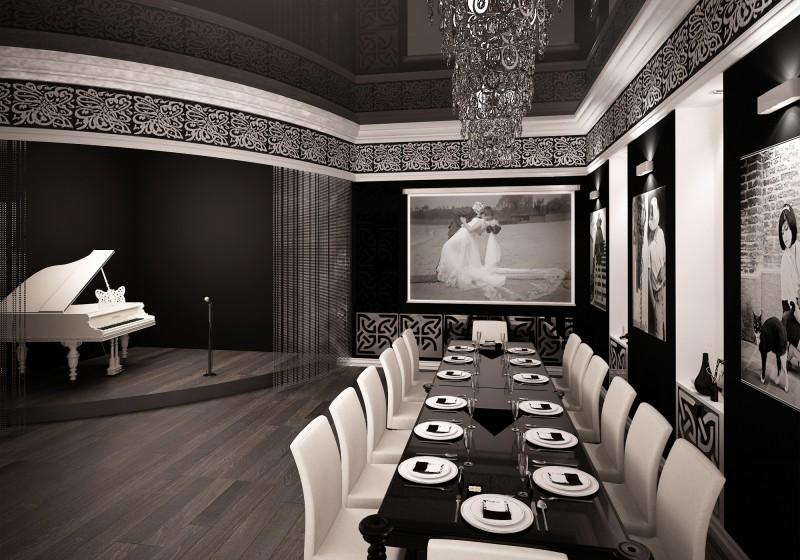 Дизайн интерьера для банкетного зала