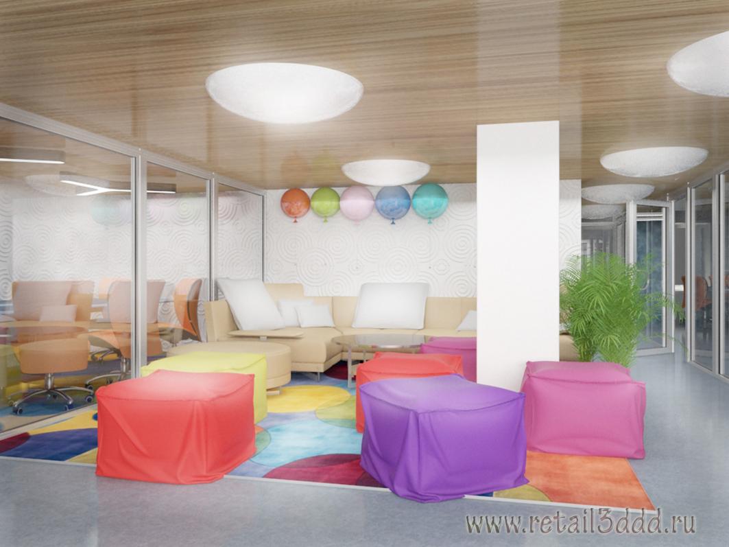 Разработка концепции офиса 800м2