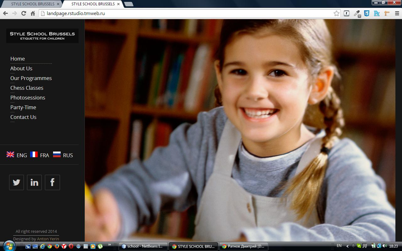 STYLE SCHOOL BRUSSELS Etiquette for children