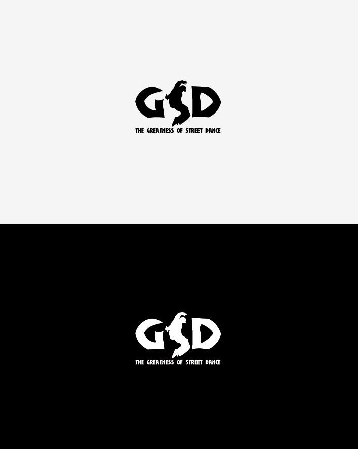 Логотип школы уличных танцев GSD
