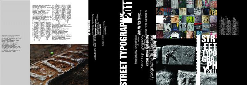 Суперобложка для книги про типографику