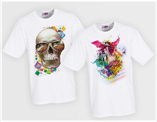 Коллажи для футболок