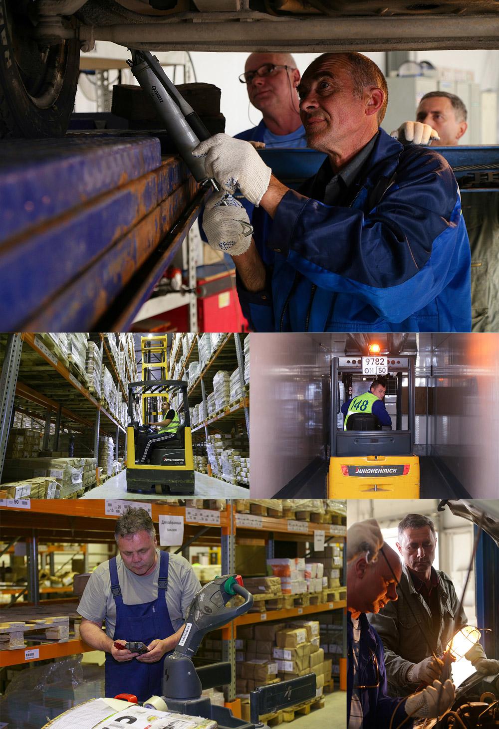 Фотосъемка работников (5 фото).